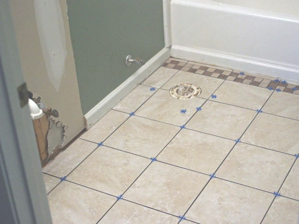 Beautiful How To Install Bathroom Floor Tile | How-Tos | Diy regarding Tiles For Bathroom Floor