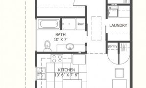 Beautiful I Like This One Because There Is A Laundry Room! :-) 800 Sq Ft Floor pertaining to House Plans For 800 Sq Ft