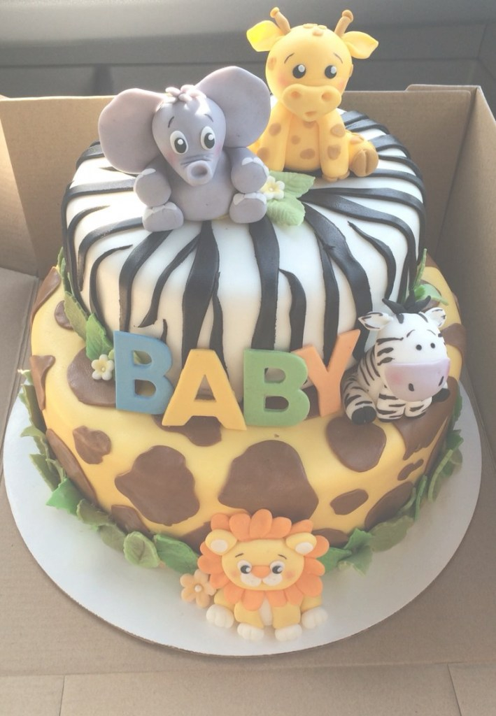 Beautiful Safari Baby Shower Cake | Baby Boy Shower In 2019 | Safari Baby with regard to Jungle Baby Shower Cake