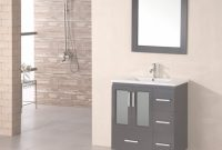 Cool 32 Inch Modern Single Sink Bathroom Vanity In Espresso in Espresso Bathroom Vanity