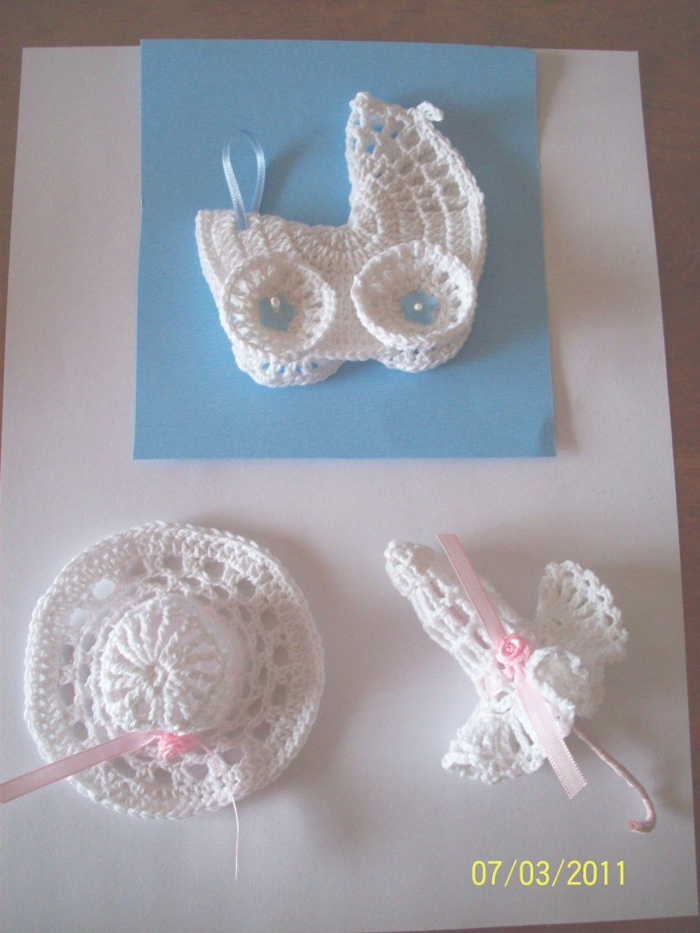Cool Crochet Mini Baby Shower Favors With Free Patterns | Crochet within Crochet Baby Shower Favors