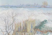 Cool Epph | Van Gogh's Snowy Landscape With Arles In The Background (1888) within Van Gogh Landscape Drawingslandscape Synonym