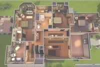 Cool Halliwell Manor | Charmed | Sims House, Sims 3 Houses Ideas, Home Tv regarding Halliwell Manor Floor Plans