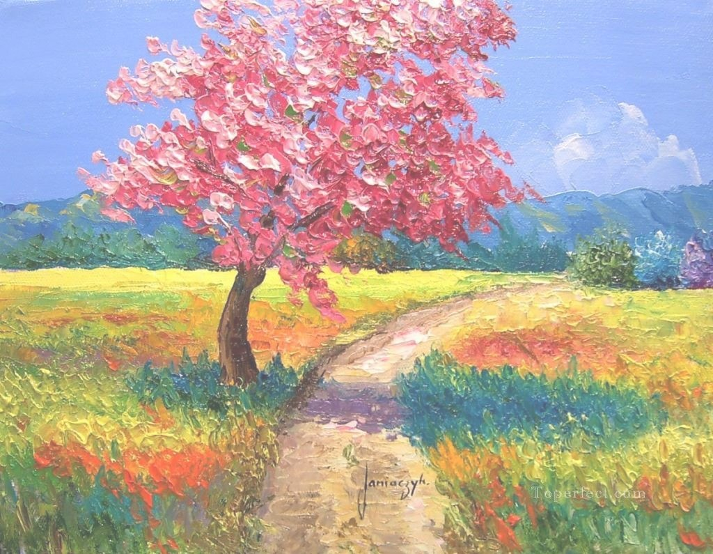 Cool Pls11 Beautiful Landscape Garden Painting In Oil For Sale throughout Set Landscape Pictures For Sale