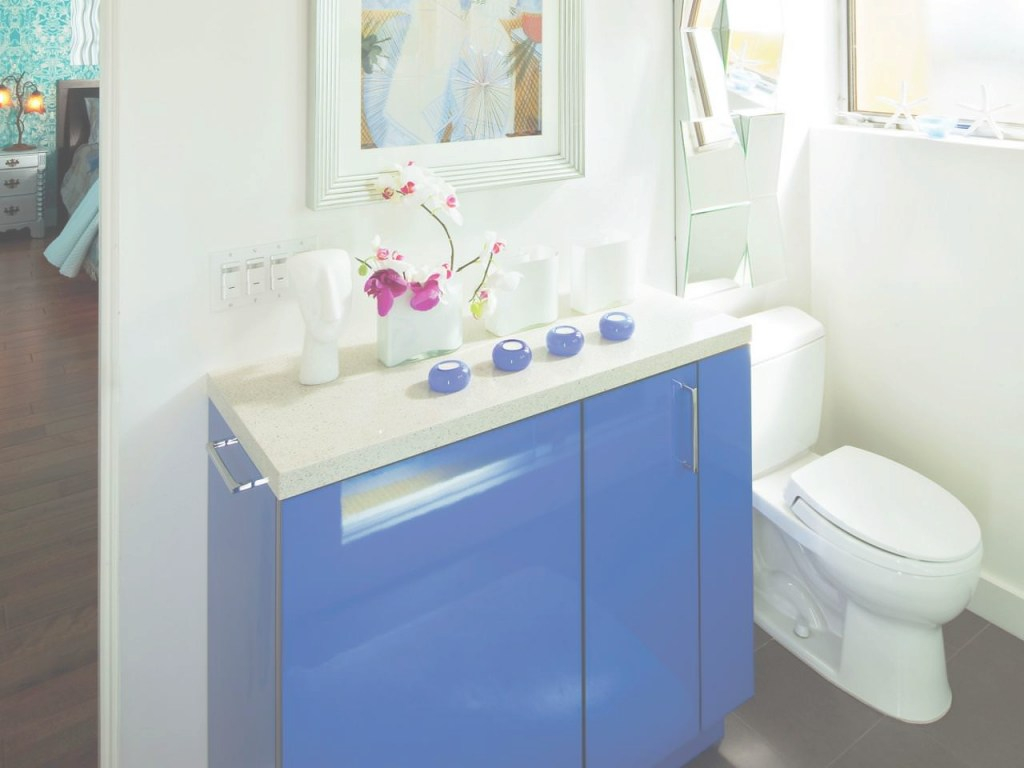 Cool Small Bathroom Storage Ideas Cabinets Blue | Chef Decor Sets : Find for Best of Blue Bathroom Storage Cabinet