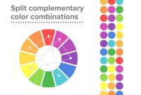 Cool Split Complementary Colors | Example for Review Split Complementary Color Scheme Examples