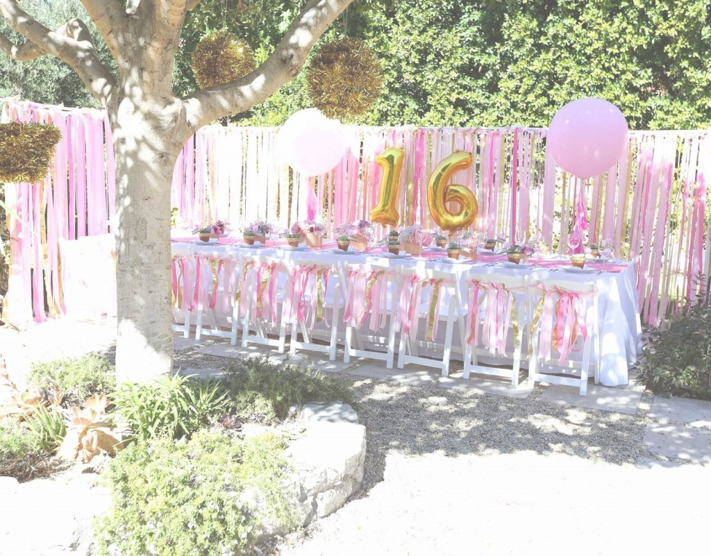 Elite Backyard Birthday Party Ideas Sweet 16 Gift For A Girl Astonishing regarding Awesome Backyard Birthday Party