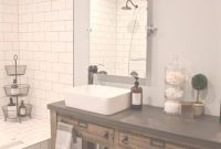 Elite Bathroom Remodel: Restoration Hardware Hack – Mercantile Console in Restoration Hardware Bathroom Mirrors