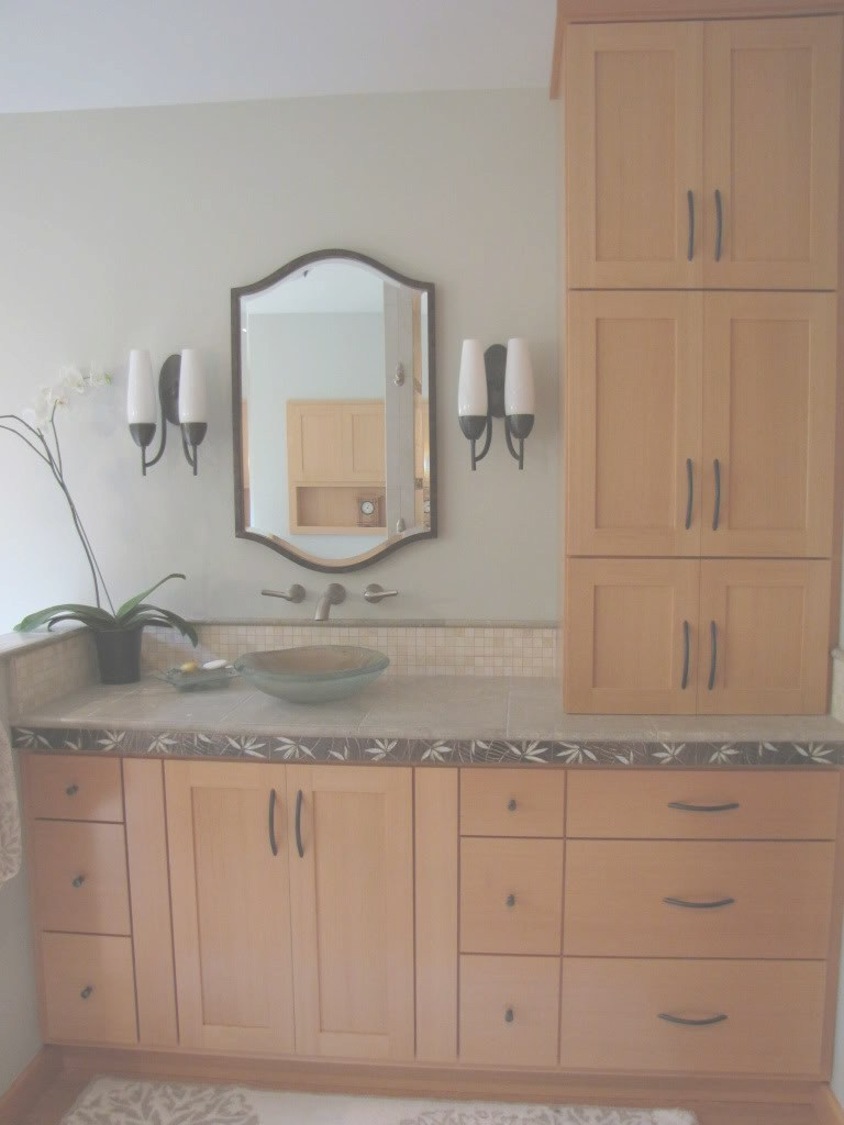 Elite Beautiful Bathroom Vanity With Linen Cabinet Related To Home throughout New Bathroom Vanity With Linen Cabinet