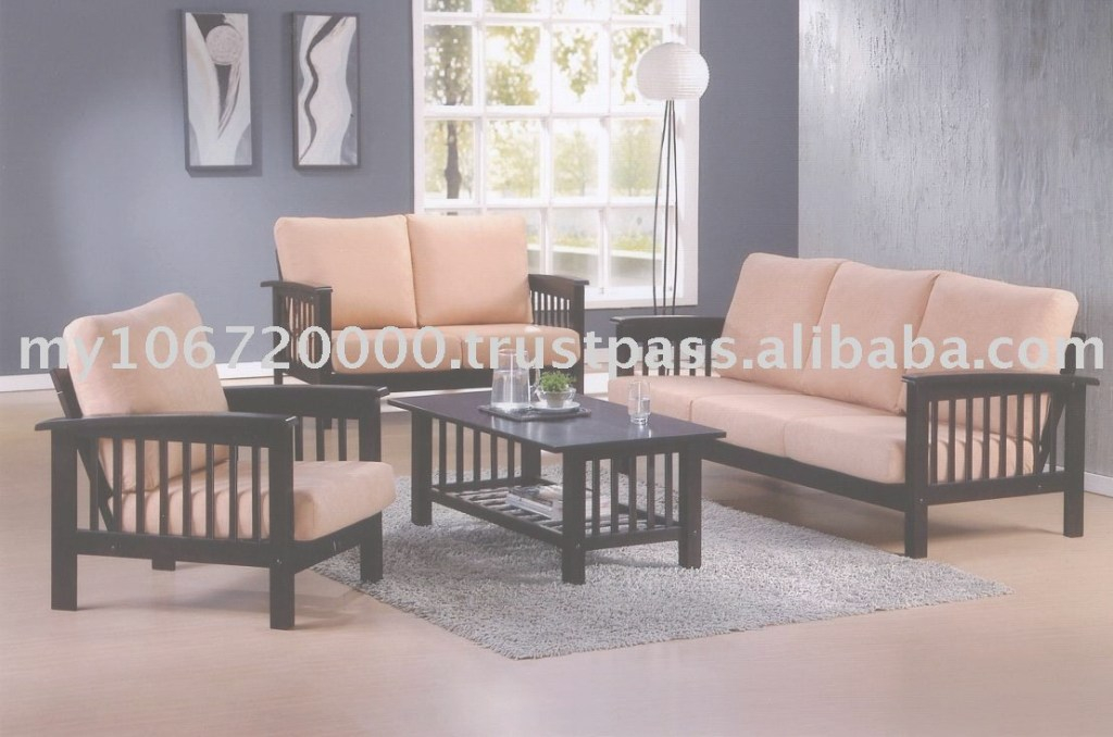 Elite Domenech Sofa (9908),wooden Sofa Set,sofa Set,living Room Furniture with Awesome Wooden Living Room Furniture