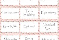 Elite Free Baby Shower / Baby Sprinkle Printables. Pictionary | Baby inside Baby Shower Pictionary