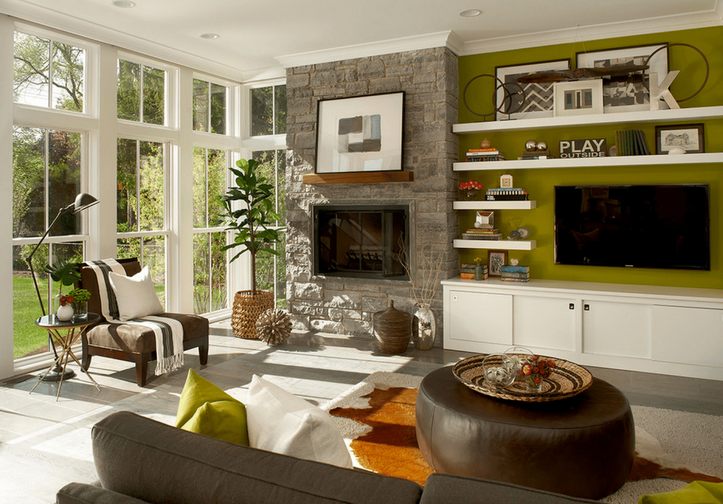 Elite Green Living Room Ideas intended for Set Green And Brown Living Room