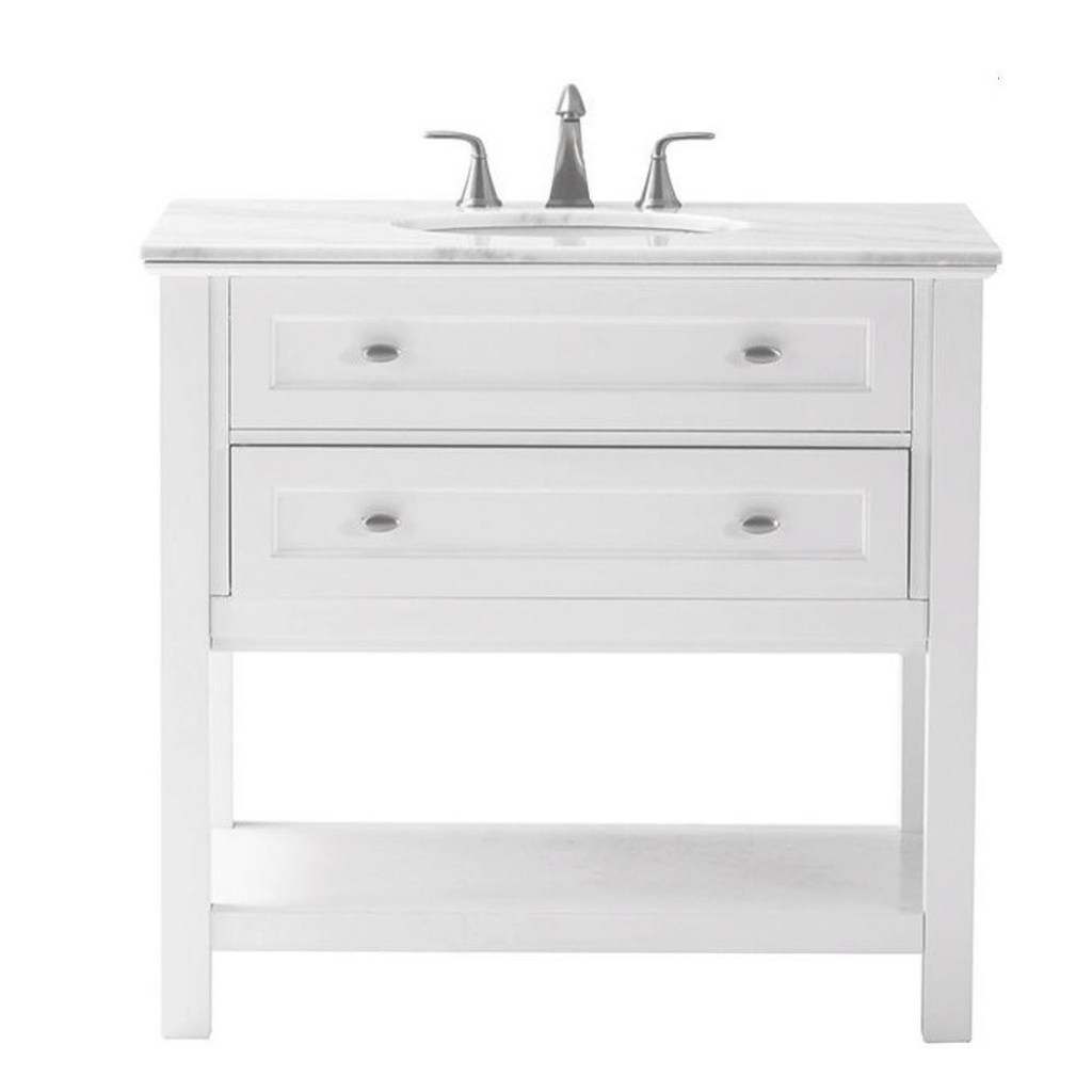 Elite Home Decorators Collection Austell 37 In. W X 22 In. D Bath Vanity intended for High Quality Home Decorators Bathroom Vanity