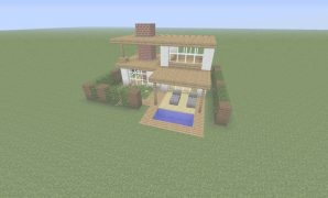 Elite Minecraft Ideas Easy 01 | Minecraft Houses | Minecraft, Minecraft in Review Simple Minecraft House Design