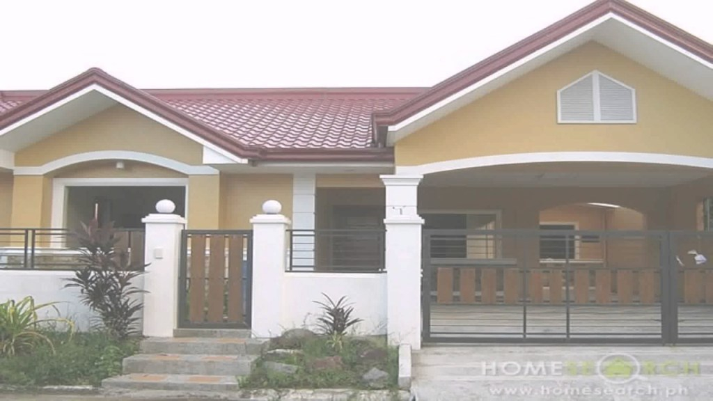 Epic 3 Bedroom Bungalow House Design Philippines - Youtube with regard to Philippine Bungalow House Designs Pictures