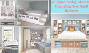 Epic 46 Space Saving Ideas For Organizing Your Small Bedroom - Homiku pertaining to Review How To Save Space In A Small Bedroom
