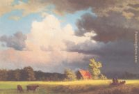Epic Albert Bierstadt Bavarian Landscape Painting Anysize 50% Off throughout Landscape Pictures For Sale