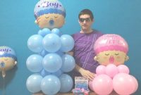 Epic Baby Shower Balloon Decor (Dollar Store!) – Youtube inside How To Make Baby Shower Balloon Decorations