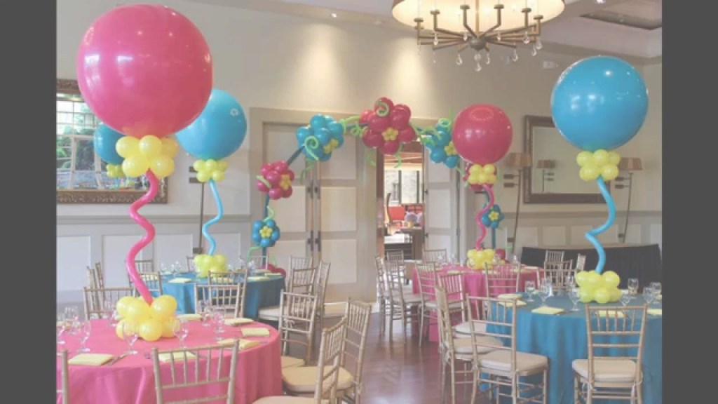 Epic Creative Baby Shower Balloon Decorating Ideas - Youtube in Review How To Make Baby Shower Balloon Decorations