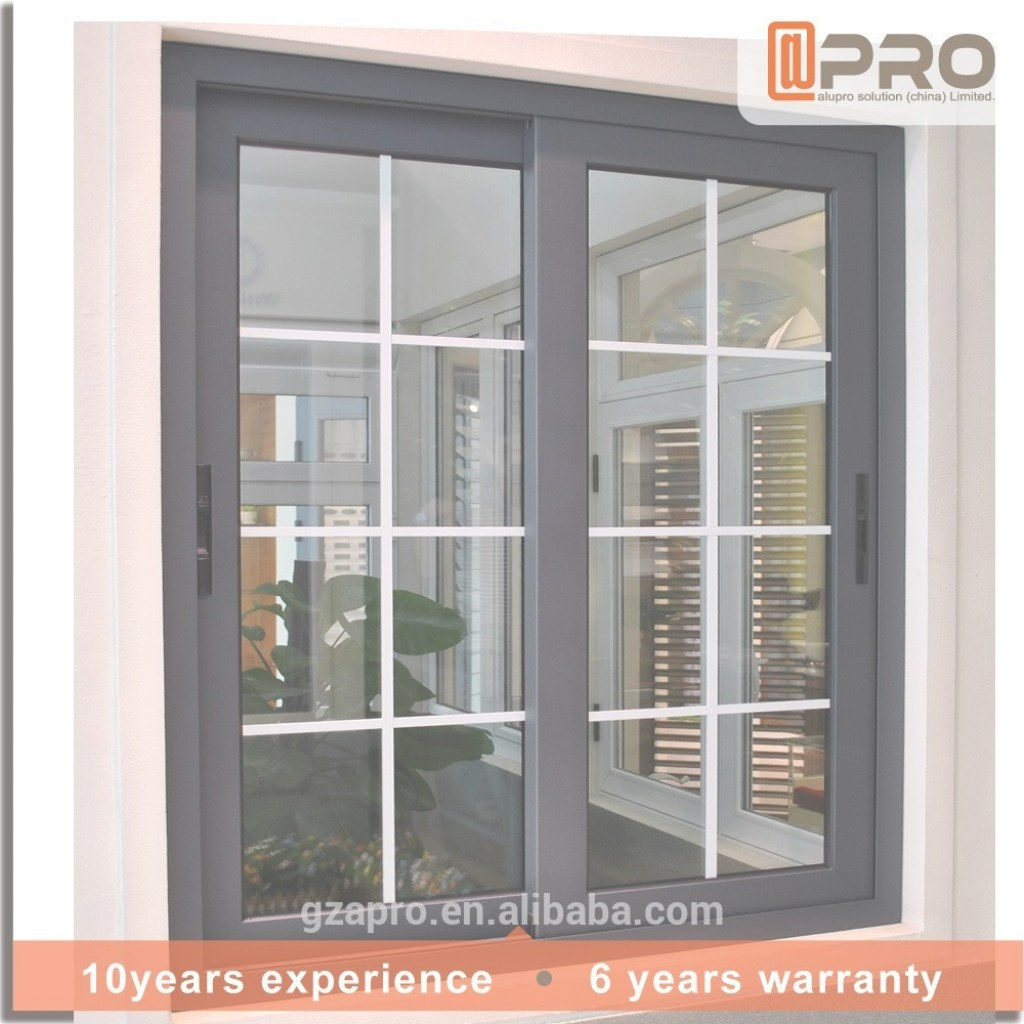 Epic New Design Simple Iron Window Grills Sash Window Aluminum Window with Window Frame Design