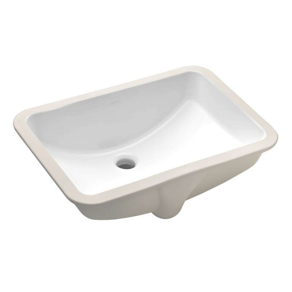 Epic Rectangle - Undermount Bathroom Sinks - Bathroom Sinks - The Home Depot in Small Rectangular Undermount Bathroom Sink