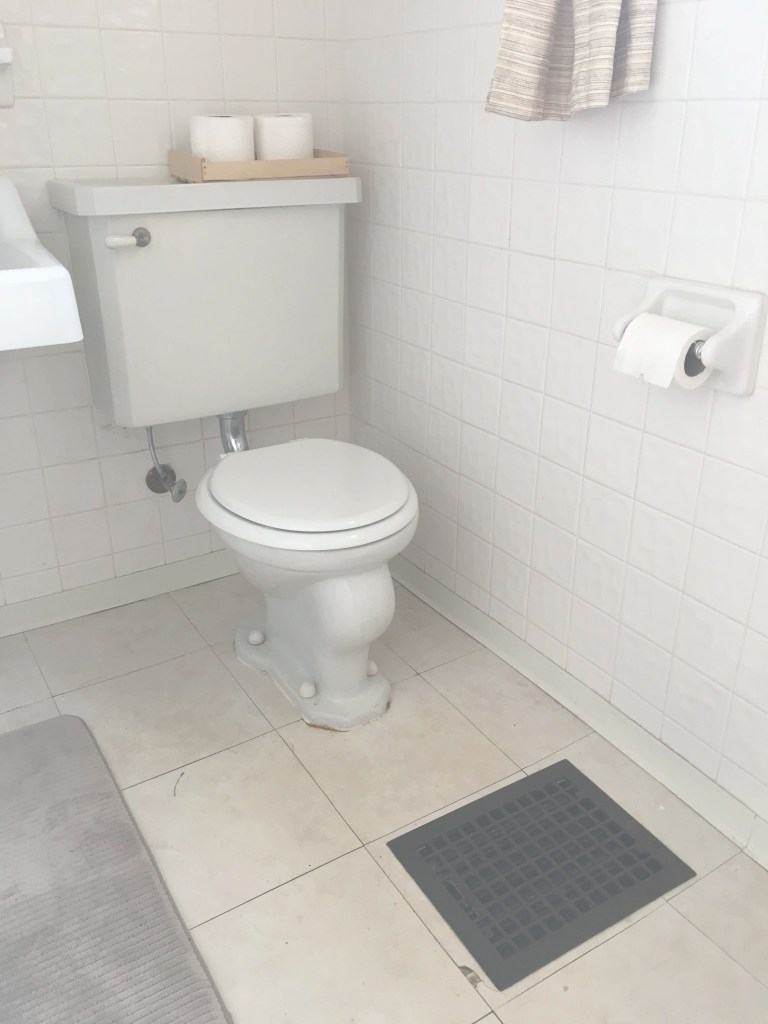 Epic This $50 Temporary Flooring Floats Right Over Rental Bathroom Tile within Tiles For Bathroom Floor