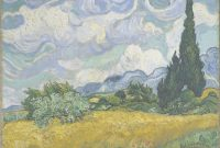 Epic Wheat Field With Cypresses – Wikipedia with regard to Van Gogh Landscape Drawingslandscape Synonym
