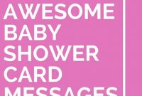 Fabulous 59 Awesome Baby Shower Card Messages | Baby Shower Ideas | Baby Card regarding Greetings For Baby Shower