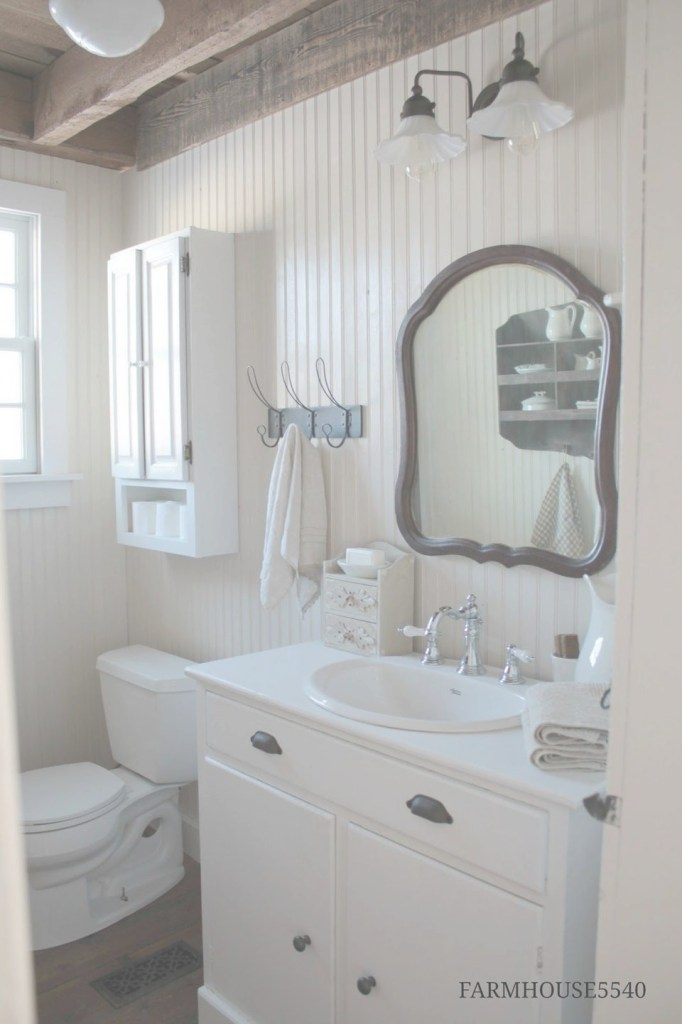 Fabulous Add Beadboard To Your Bathroom For A Cozy Feel | Bathrooms | Modern inside Bathroom With Beadboard