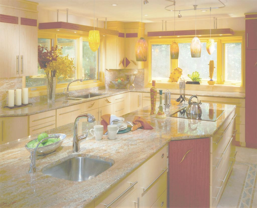 Fabulous Bright Kitchen Colors : Furniture Ideas | Deltaangelgroup in High Quality Bright Kitchen Colors