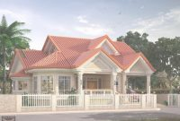 Fabulous Elevated Bungalow With Attic Page Bungalow Type House Design in Philippine Bungalow House Designs Pictures