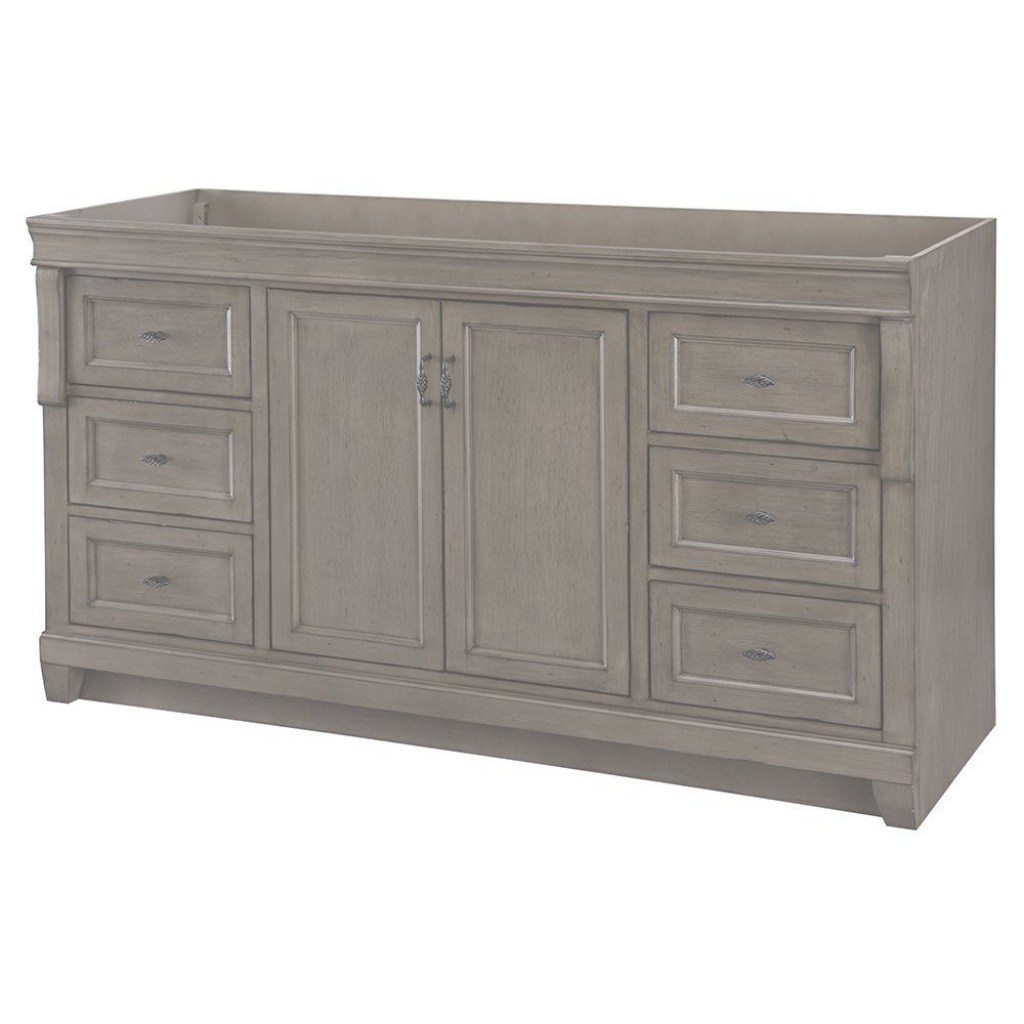 Fabulous Home Decorators Collection Naples 60 In. W Bath Vanity Cabinet Only intended for 60 Bathroom Vanity Single Sink