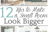 Fabulous How To Make A Small Room Look Bigger – Bless'er House regarding Unique Make A Small Bedroom Look Bigger