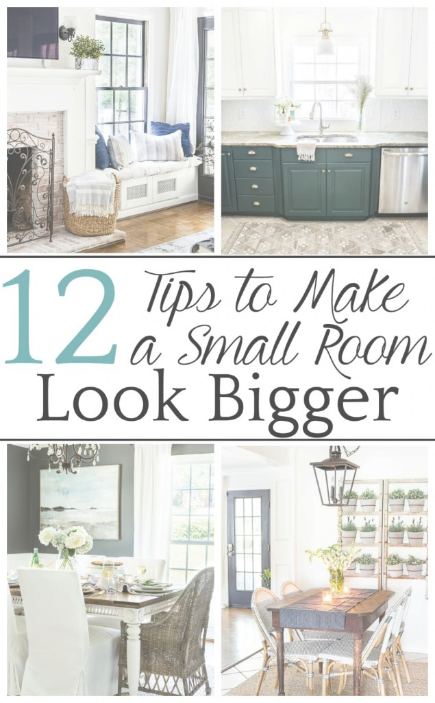 Fabulous How To Make A Small Room Look Bigger - Bless'er House regarding Unique Make A Small Bedroom Look Bigger