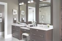Fancy 60 Bathroom Vanity Ideas With Makeup Station – Round Decor within Luxury Bathroom Vanity With Makeup Station
