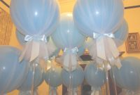 Fancy Cute For A Baby Shower! | Baby Shower. | Baby Shower, Baby Boy with Review How To Make Baby Shower Balloon Decorations