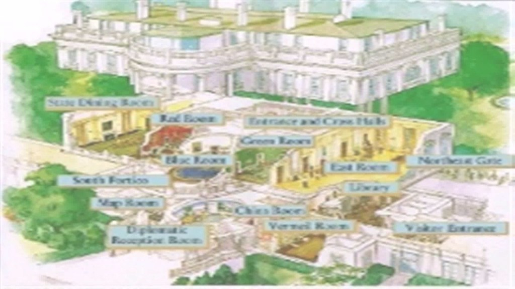 Fancy Floor Plan White House Blueprint - Youtube with Fresh Floor Plan Of Whitehouse