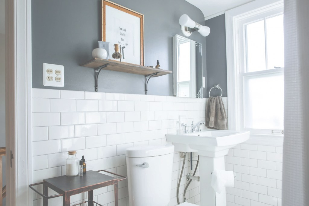 Fancy Here Are The Best Paint Colors For Your Small Bathroom | Apartment pertaining to Set Small Bathroom Color Ideas