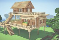 Fancy Minecraft: Starter House Tutorial – How To Build A House In for Review Simple Minecraft House Design