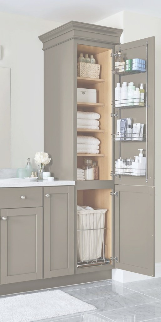 Fancy Our Top Storage And Organization Ideas—Just In Time For Spring inside Small Bathroom Cabinet Ideas