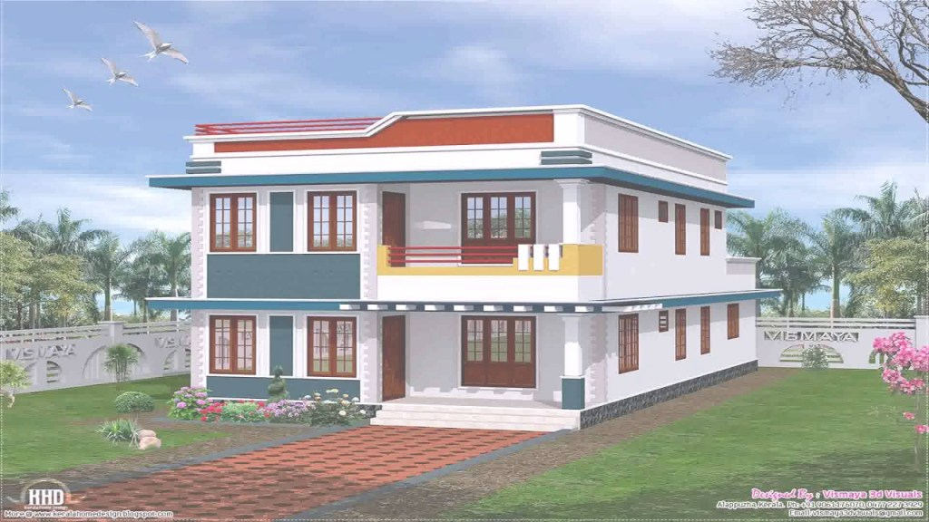 Fancy Simple Indian Village House Design - Youtube inside Beautiful Simple Village House Design Picture