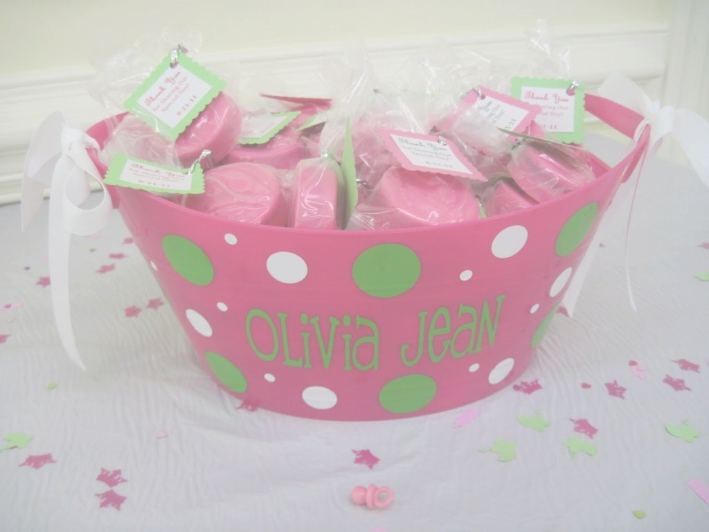 Fancy Storybook Bakery Blog: Pink & Green Baby Shower Dessert Table inside Pink And Green Baby Shower