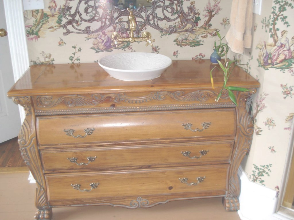 Fancy Using Vintage Furniture In The Bathroom | Diy in High Quality Antique Bathroom Vanity For Sale