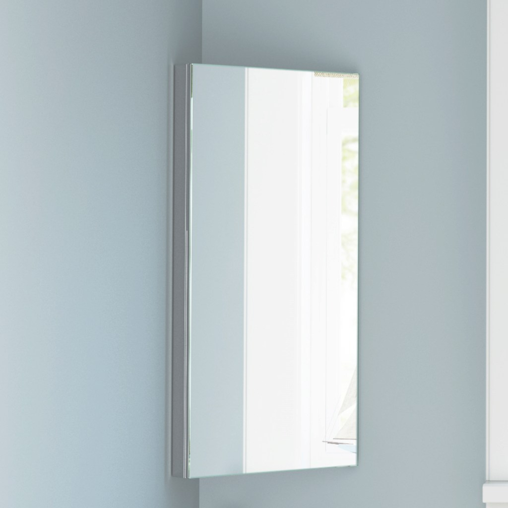 Fancy Wall Mounted Corner Bathroom Mirror Storage Cabinet | Modern within Bathroom Wall Cabinet With Mirror