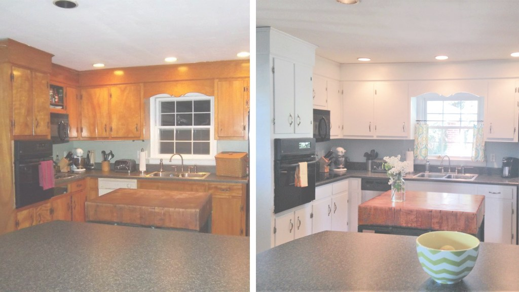 Glamorous 10 Diy Kitchen Cabinet Makeovers - Before & After Photos That Prove within Awesome Kitchen Cabinet Makeover Diy