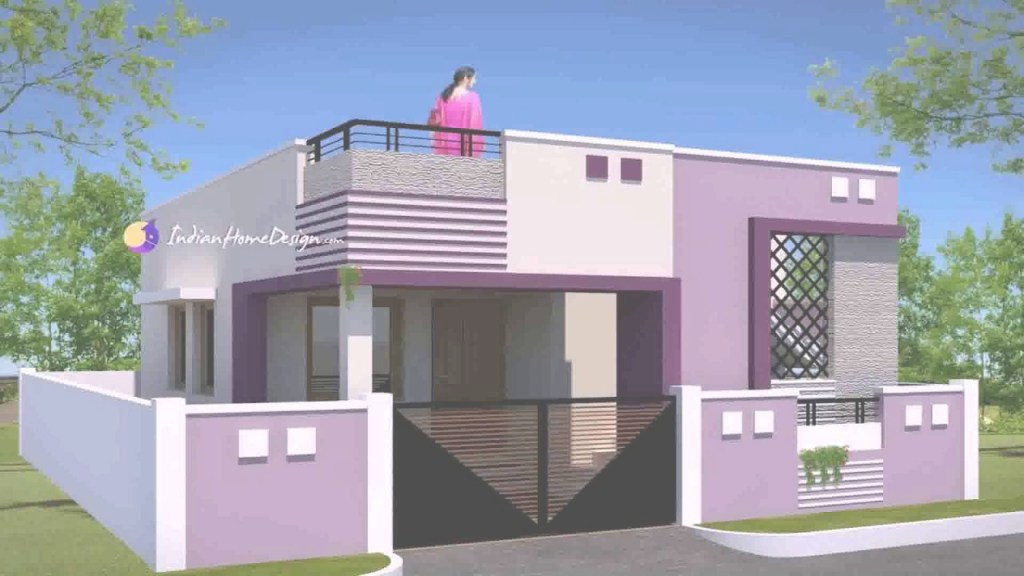 Glamorous 1000 Sq Ft House Plans 3 Bedroom Indian Style - Youtube for Inspirational 3 Bedroom House Plan Indian Style