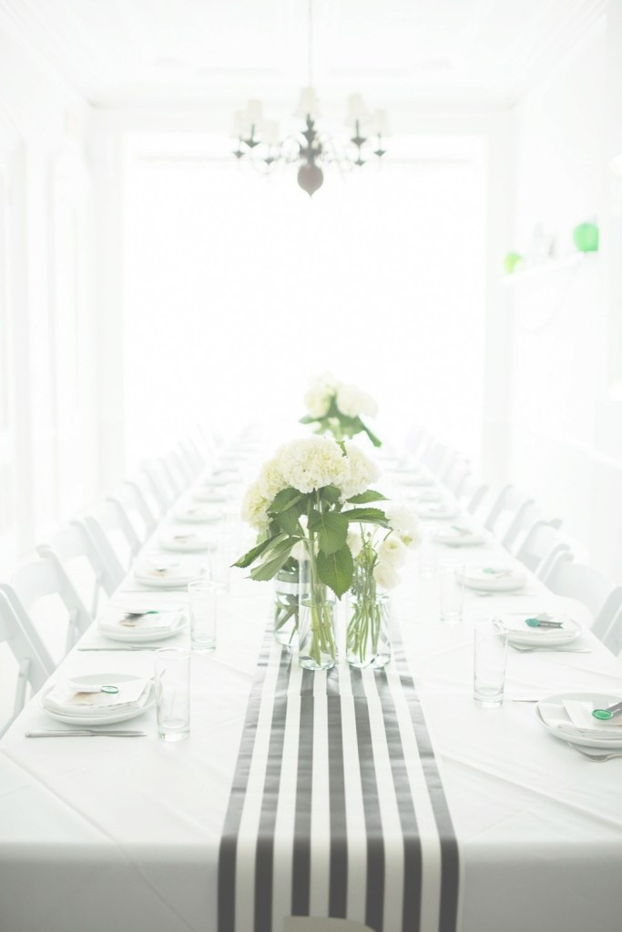 Glamorous A Graphic Black + White Modern Baby Shower - The Sweetest Occasion throughout Elegant Modern Baby Shower Ideas