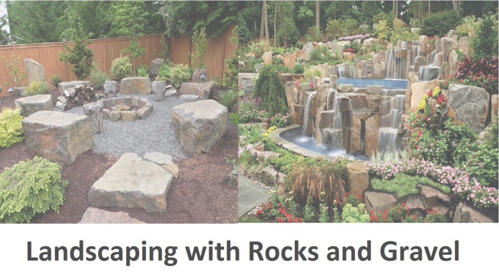 Glamorous Awesome Landscaping With Rocks And Gravel - Youtube in Rock Landscaping Pictures