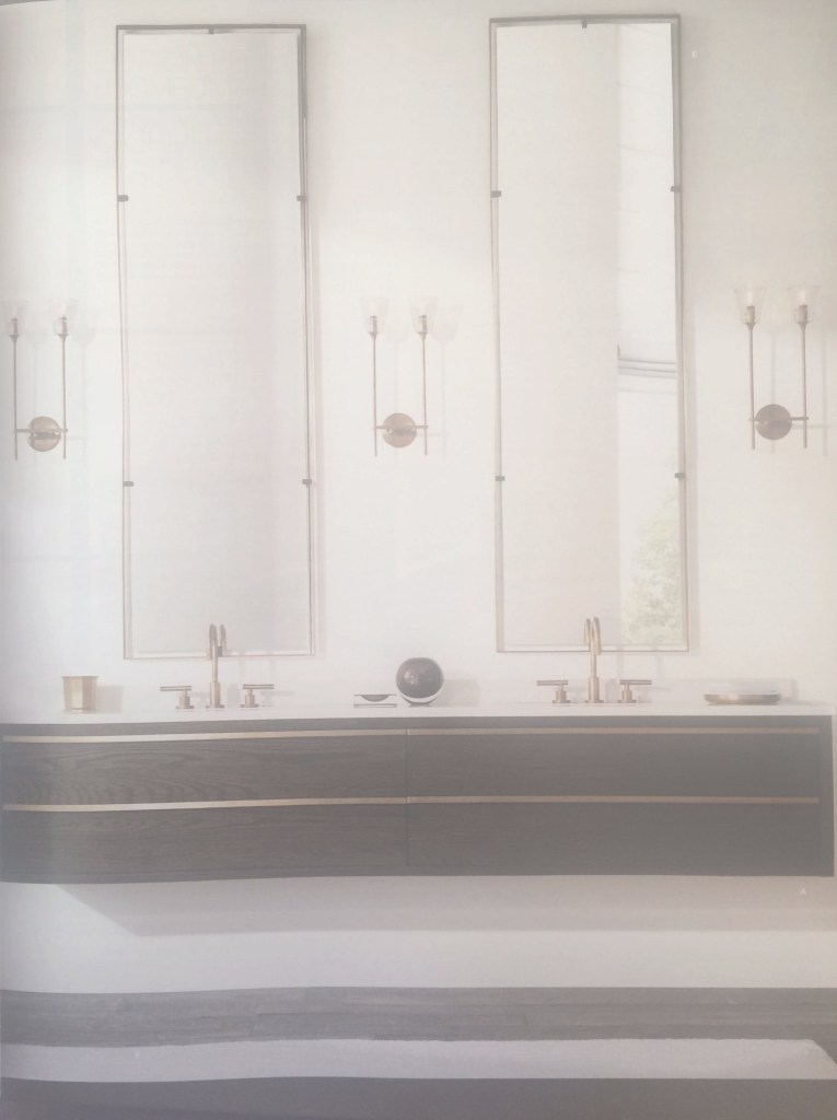 Glamorous Bathroom: Restoration Hardware Vanities Design With Double Bath within Unique Restoration Hardware Bathroom Mirrors