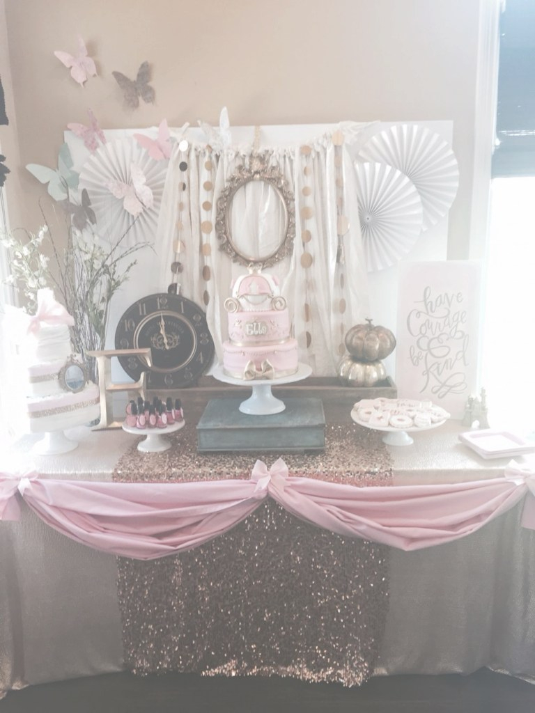 Glamorous Cinderella Inspired Baby Shower | Cinderella Party Themes in Cinderella Baby Shower